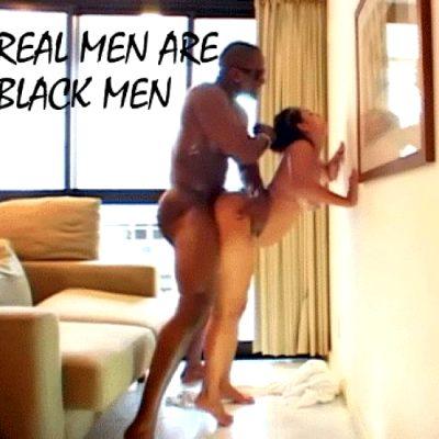 Interracial at Big Black Bananna